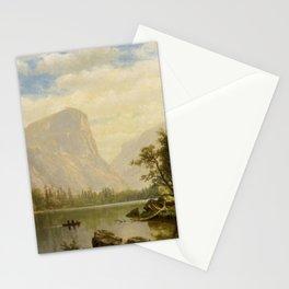 Albert Bierstadt - Mirror Lake, Yosemite Valley Stationery Cards