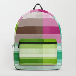 Pop-art grid Backpack