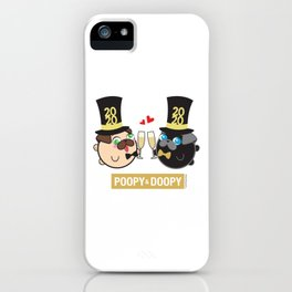 Poopy and Doopy iPhone Case