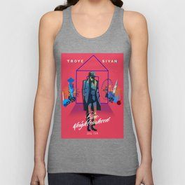 TALKIE BOY TOUR PINK Unisex Tank Top