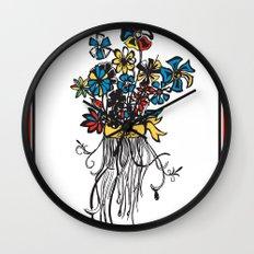 Bouquet - Skal Wall Clock