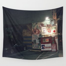 open 24 hrs Wall Tapestry