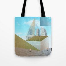atmosphere 9 · Dreamland - Waiting for Rene Tote Bag