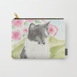Miss Green Eyes Carry-All Pouch