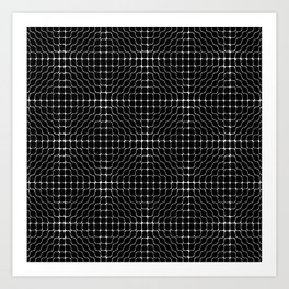 Energy Vibration 3. Frequency - Chladni - Cymatics Art Print
