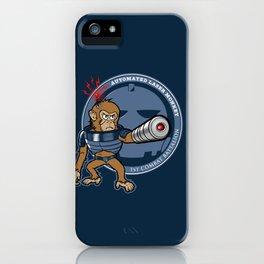 Automated Laser Monkey iPhone Case
