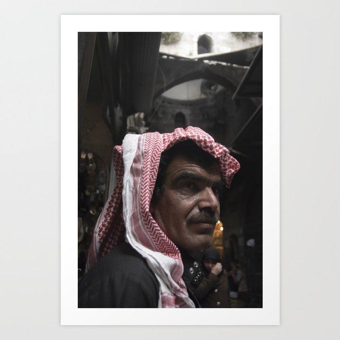 Aleppo Souq Art Print