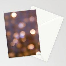 Bokeh Rain Stationery Cards