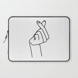 Love Finger Snap Laptop Sleeve