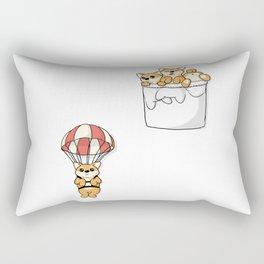 Cute Pocket Shiba Inus Rectangular Pillow
