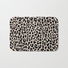 Tan Leopard Bath Mat
