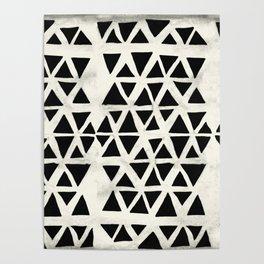 Tribal Geometric Poster