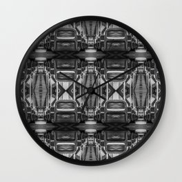 Big Bus To Anywhere Wall Clock