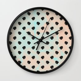 Mini Monstera Theme Wall Clock