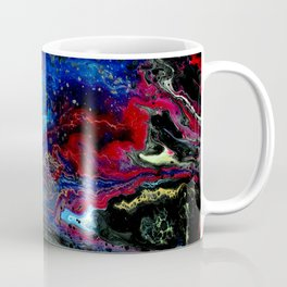 Red Strata Coffee Mug