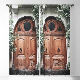 Pretty Door in Buenos Aires   Travel Photography Blackout Curtain