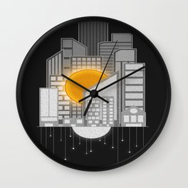 Why Do We Need The Sun And Moon? Wall Clock