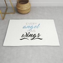 Every Angel Has Wings Rug