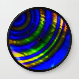 Abstract Sound Wall Clock
