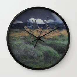 Landschap, Louis Patru, 1895 - 1905 Wall Clock