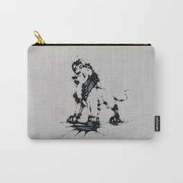 Splaaash Series - Animal King Ink Carry-All Pouch