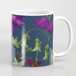 Watercolor Hummingbird Garden Coffee Mug