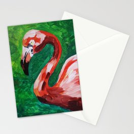 Flamingo 2 Stationery Cards