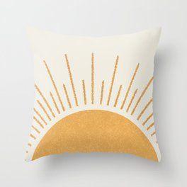 Sunshine Everywhere Throw Pillow