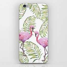 Flamingo  #society6 #buyart iPhone Skin