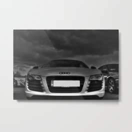 Powered by Thunder Metal Print