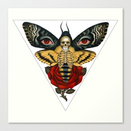 Death From Above Canvas Print