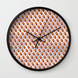 A Flock of Birds Wall Clock