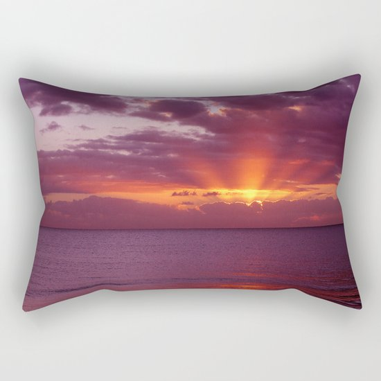 Let the new day lift your spirits to the sky Rectangular Pillow