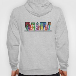 Puzzled People Hoody