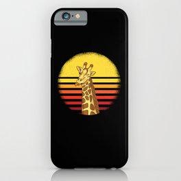 Giraffe Giraffes Africa Gift Idea iPhone Case