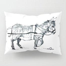 Donkey Cart Pillow Sham