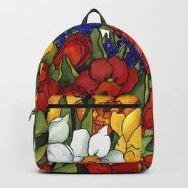 Spring Tri Color Backpack