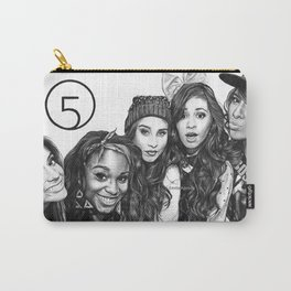 Fifth Harmony Group Drawing Carry-All Pouch