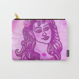 Fairy Face Carry-All Pouch