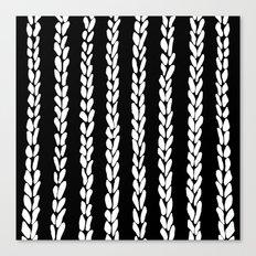 Knit 8 Canvas Print