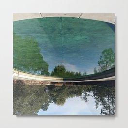 Sky in the Water Metal Print
