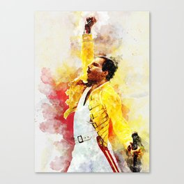 Freddie Art Canvas Print