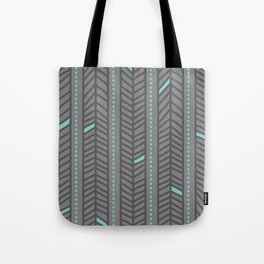 Birdsong Feather Stripe Tote Bag