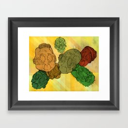 Hangin around Framed Art Print