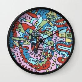 Tear My Heart Out (Garden) Wall Clock