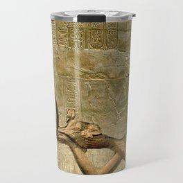 Horus and Pharaoh Travel Mug