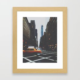 blr Framed Art Print