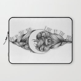 Live by the Sun, Love by the Moon Laptop Sleeve
