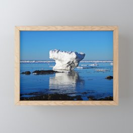 Iceberg in the Shallows Framed Mini Art Print