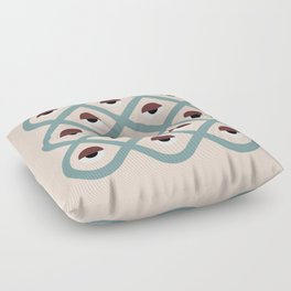 dreams and prophecy Floor Pillow